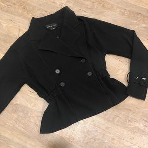 NWT Double breasted cropped jacket